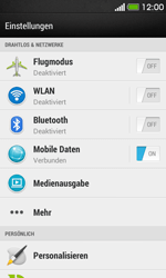 HTC Desire 500 - Internet - Manuelle Konfiguration - 1 / 1