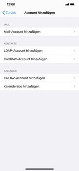 Apple iPhone XS Max - iOS 14 - E-Mail - Manuelle Konfiguration - Schritt 6