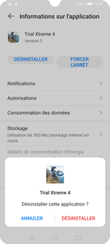 Huawei Y6P - Applications - Supprimer une application - Étape 7