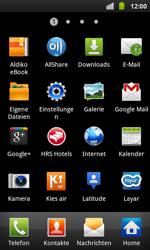 Samsung I9001 Galaxy S Plus - E-Mail - Konto einrichten - Schritt 3