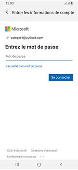 Samsung Galaxy A40 - E-mails - Ajouter ou modifier votre compte Outlook - Étape 8