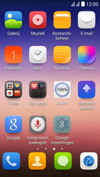Huawei Y625 - E-mail - e-mail instellen: IMAP (aanbevolen) - Stap 3