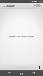 Sony Xperia Z2 - Bluetooth - Connecting devices - Step 5