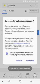 Samsung Galaxy A8 (2018) - Internet - navigation sur Internet - Étape 11