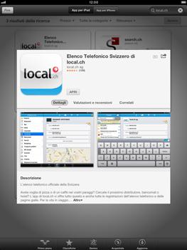 Apple iPad mini - Applicazioni - Installazione delle applicazioni - Fase 9