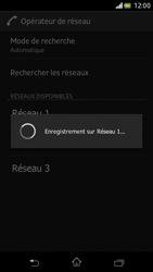 Sony Xperia V - Réseau - Sélection manuelle du réseau - Étape 9