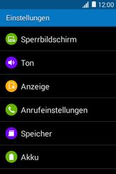 Samsung G130HN Galaxy Young 2 - Anrufe - Rufumleitungen setzen und löschen - Schritt 4