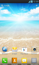 LG P700 Optimus L7 - Internet - Internet gebruiken - Stap 1