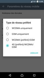 Sony Xperia XZ (F8331) - Réseau - Changer mode réseau - Étape 7