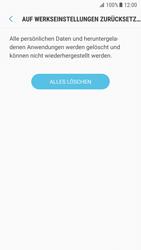 Samsung Galaxy S7 - Android N - Gerät - Zurücksetzen auf die Werkseinstellungen - Schritt 8