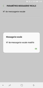 Samsung Galaxy A6 - Messagerie vocale - configuration manuelle - Étape 12