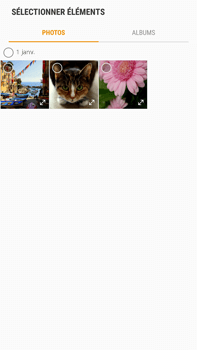 Samsung Galaxy S6 Edge+ - Android Nougat - MMS - envoi d'images - Étape 13