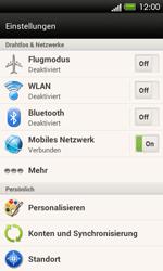 HTC One SV - Ausland - Im Ausland surfen – Datenroaming - 6 / 10