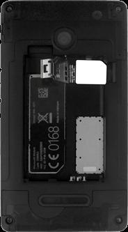 Microsoft Lumia 532 - SIM-Karte - Einlegen - Schritt 4