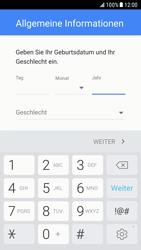 Samsung Galaxy S6 - Android Nougat - Apps - Einrichten des App Stores - Schritt 8