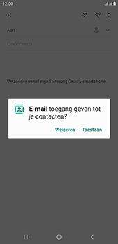 Samsung Galaxy J6 Plus - E-mail - e-mail versturen - Stap 5