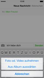 Apple iPhone 5 - MMS - Erstellen und senden - 11 / 17
