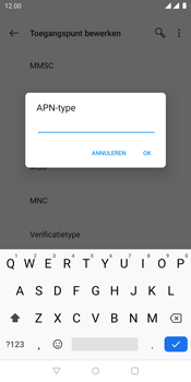 OnePlus 5T - Internet - Handmatig instellen - Stap 15