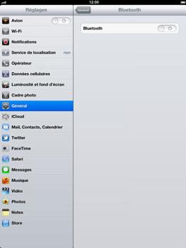 Apple iPad 4th generation - Bluetooth - connexion Bluetooth - Étape 7