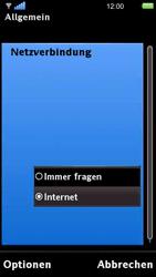 Sony Ericsson U5i Vivaz - Internet - Manuelle Konfiguration - 23 / 29