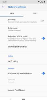 Nokia 7.2 - WiFi - Enable WiFi Calling - Step 9