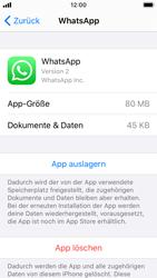 Apple iPhone SE - iOS 13 - Apps - Eine App deinstallieren - Schritt 6