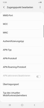 Samsung Galaxy Z flip - MMS - Manuelle Konfiguration - Schritt 13