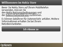 Nokia E72 - Apps - Konto anlegen und einrichten - Schritt 8