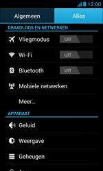Huawei Ascend Y300 - bluetooth - aanzetten - stap 3