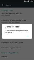 HTC 10 - Messagerie vocale - configuration manuelle - Étape 9