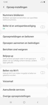 Samsung Galaxy A30 - voicemail - handmatig instellen - stap 7