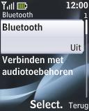 Nokia 2330 classic - bluetooth - aanzetten - stap 6