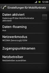 Sony Xperia Miro - MMS - Manuelle Konfiguration - Schritt 6