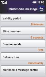 LG GD900 Crystal - MMS - Manual configuration - Step 14