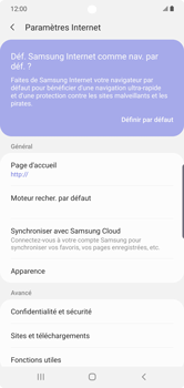 Samsung Galaxy Note10 Plus - Internet - configuration manuelle - Étape 26