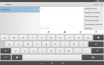 Sony Xperia Tablet Z2 (SGP521) - MMS - afbeeldingen verzenden - Stap 5