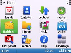 Nokia E5-00 - MMS - probleem met ontvangen - Stap 3