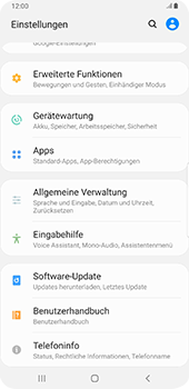 Samsung Galaxy S9 Plus - Android Pie - Software - Installieren von Software-Updates - Schritt 5