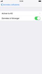 Apple iPhone 8 - iOS 12 - Internet - Désactiver du roaming de données - Étape 5