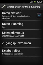 Sony Xperia Miro - Internet - Manuelle Konfiguration - 8 / 26
