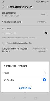 Huawei Mate 10 Pro - Android Pie - WiFi - So aktivieren Sie einen WLAN-Hotspot - Schritt 10