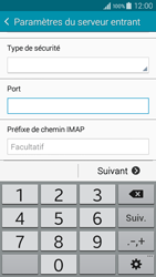 Samsung A300FU Galaxy A3 - E-mail - Configuration manuelle - Étape 11