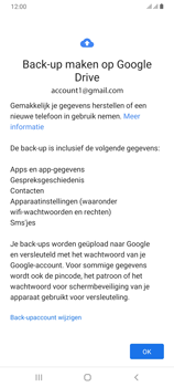 Samsung Galaxy A70 - Data - maak een back-up met je account - Stap 10