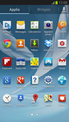 Samsung N7100 Galaxy Note II - Internet - activer ou désactiver - Étape 3