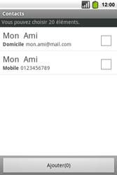Alcatel OT-991 Smart - MMS - envoi d