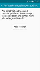 Samsung Galaxy A5 - Fehlerbehebung - Handy zurücksetzen - 2 / 2