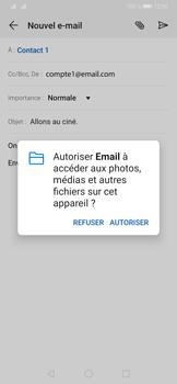 Huawei P30 - E-mails - Envoyer un e-mail - Étape 12