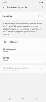 Samsung Galaxy Note20 - Internet et connexion - Partager votre connexion en Wi-Fi - Étape 11