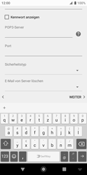 Sony Xperia XZ2 Compact - Android Pie - E-Mail - Konto einrichten - Schritt 13