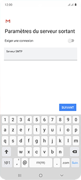 Samsung Galaxy A51 - E-mail - configuration manuelle - Étape 19
